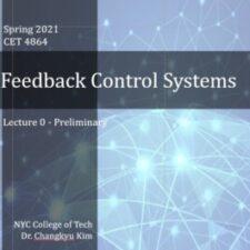 CET4864 Feedback Control Systems , Spring2021