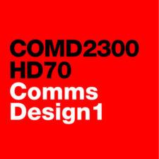 COMD2300 Communications Design 1 – Fall 2021
