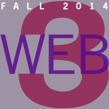 Web 3 – Fall 2014