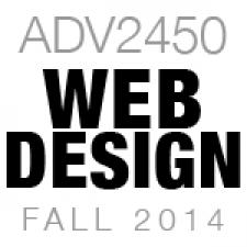 ADV2450 Web Design 1