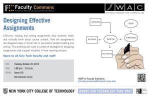 WAC READ Workshop Assignment Design