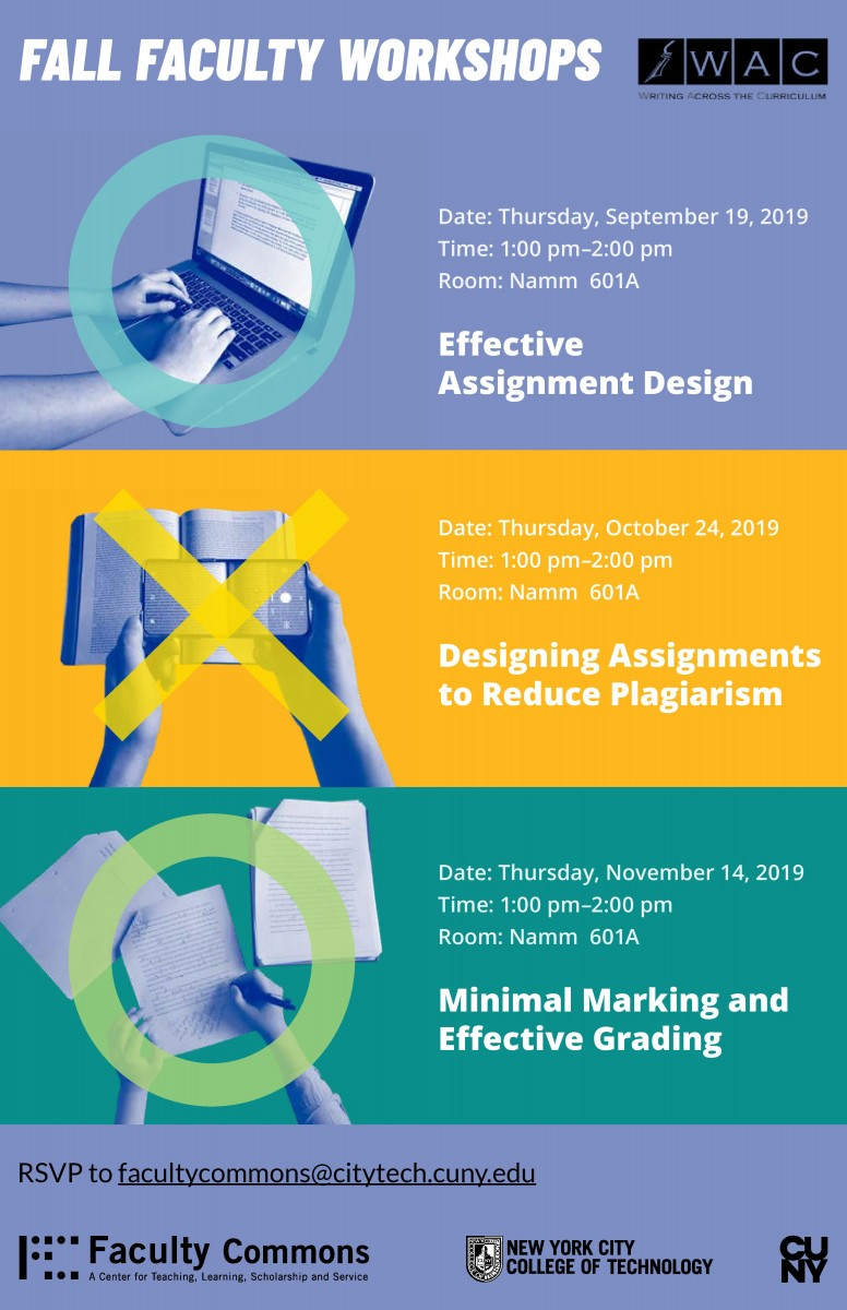 Fall 2019 Faculty Workshops