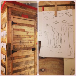 (2) Inside out house & my rough sketch;)