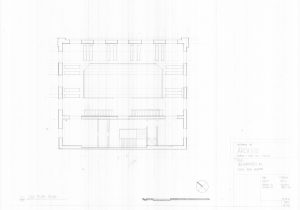 BHS- Second floor plan
